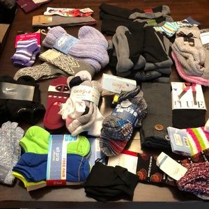 Sock Bundle.   All of these socks are new.